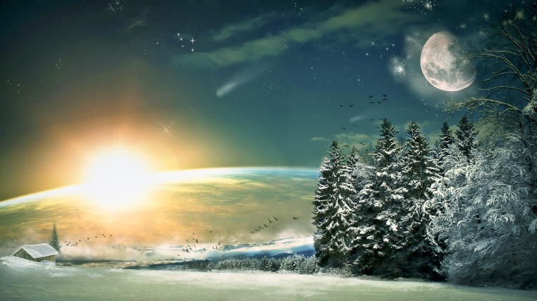 fantasy-art-wood-winter-painting-landscape-moon-stars-night_1455533