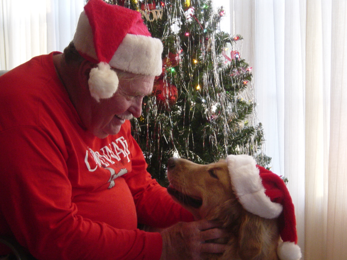 """The Geezer and I wish you all a very """"Merry Christmas"""""""