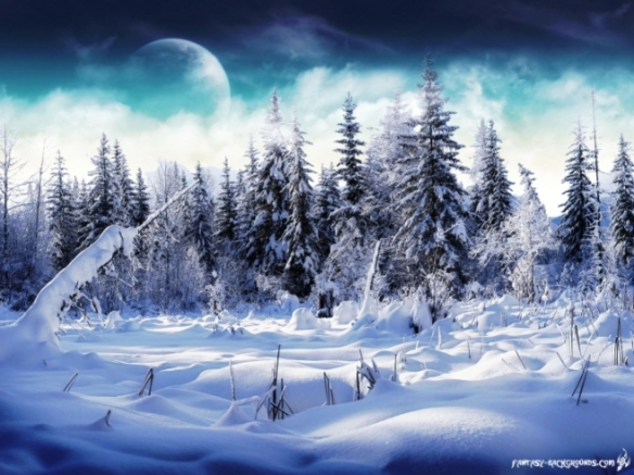 Picture courtesy of: http://www.christmas-wallpapers.co.uk/winter-wonderland/fantasy-winter-wonderland